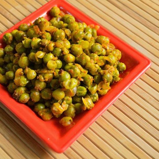 Green Peas Fried Masala