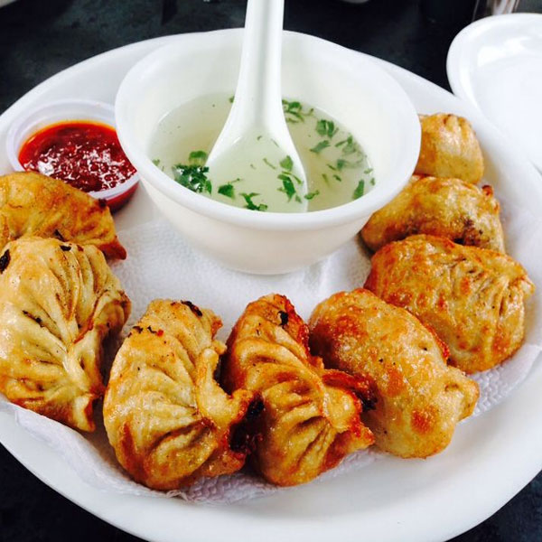 Veg. Fried Momo